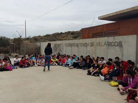 IES Jaroso visita la necrópolis fenicia de Villaricos