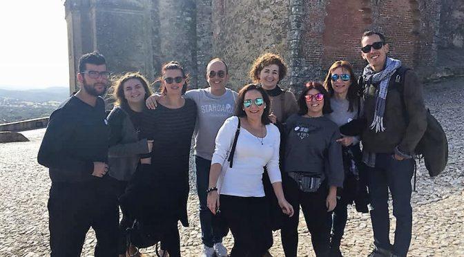 Los alumnos de Turismo tras los pasos de Colón en Huelva