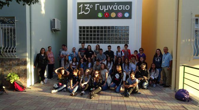 Alumnado y profesorado del IES Jaroso participan en la tercera movilidad del proyecto Erasmus