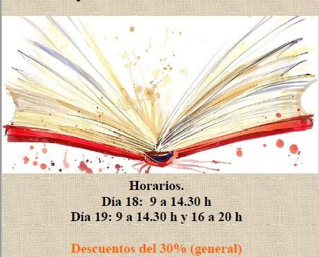 Feria del libro – 18 y 19 de diciembre de 2018