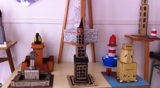 Exposición de los «Faros de Alejandría» de 1º ESO
