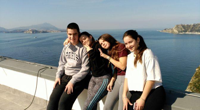 Alumnos del IES Jaroso viajan a Nápoles con el proyecto Erasmus +