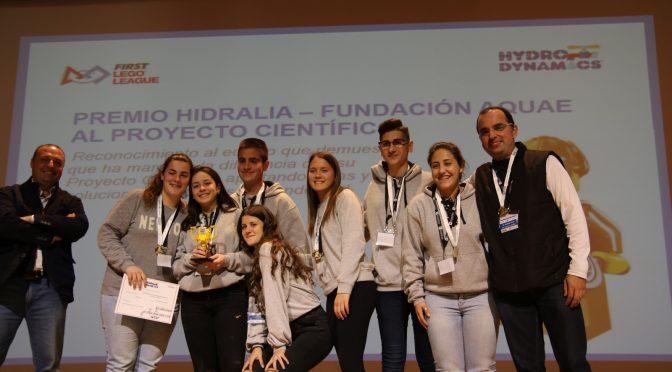 Premio al Proyecto Científico – Final del torneo de robótica FLL Almería 2017-18