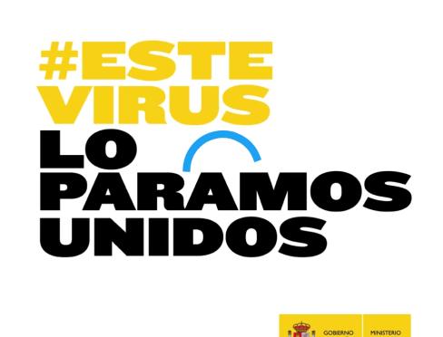 Este virus lo paramos unidos!!